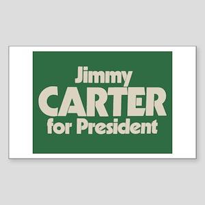 Carter for President Rectangle Sticker
