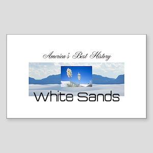 ABH White Sands Sticker (Rectangle)
