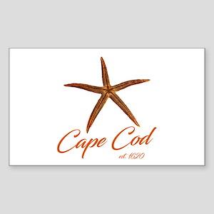Cape Cod Starfish Sticker