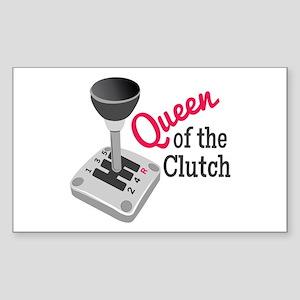 Queen Of Clutch Sticker