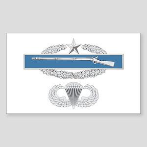CIB 2nd Airborne Sticker (Rectangle)