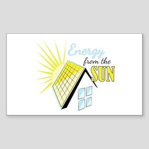 Energy From Sun Sticker
