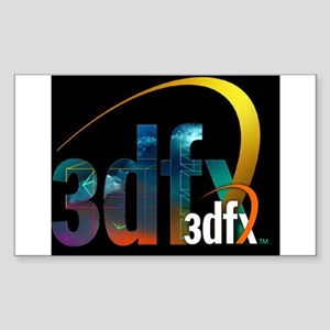 3Dfx resurrected Sticker (Rectangle)