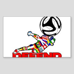 Goalie Defend Sticker