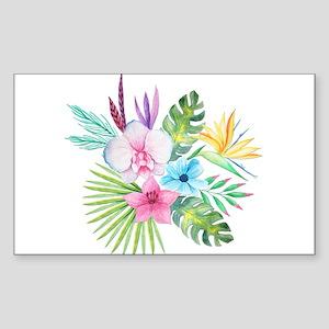 Watercolor Tropical Bouquet 3 Sticker