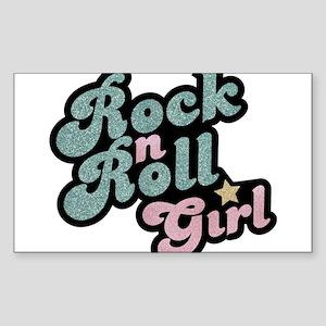 Rock N Roll Girl Sticker