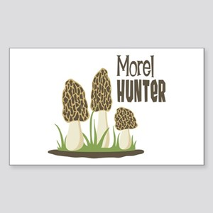 Morel Hunter Sticker