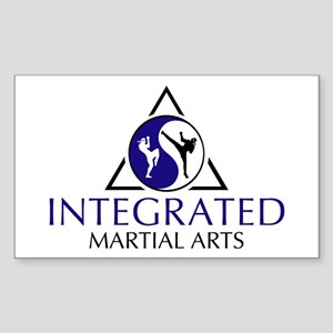 Integrated Martial Arts Rectangle Sticker