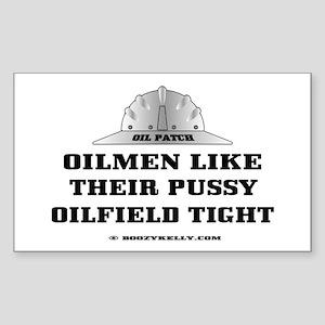 Oilfield Tight Rectangle Sticker