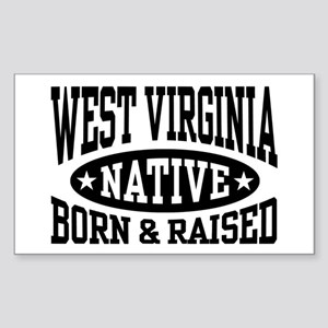 West Virginia Native Sticker (Rectangle)