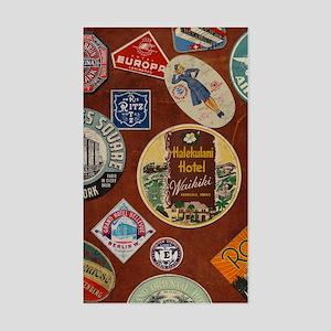luggage_temp_ipad2_folio_cover Sticker (Rectangle)