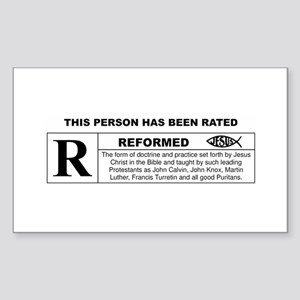 THIS PERSON HAS BEEN RATED REFORMED Sticker