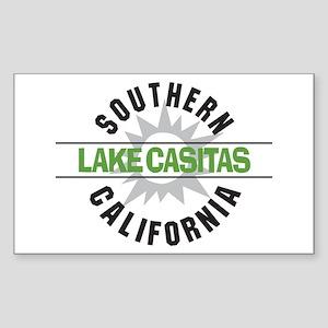 Lake Casitas California Rectangle Sticker