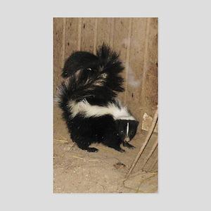Baby Skunk Sticker (Rectangle)