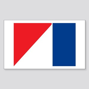 AMC Flag Logo Rectangle Sticker