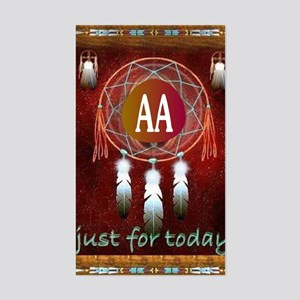 AA INDIAN Sticker (Rectangle)