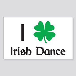 Irish Dance Rectangle Sticker