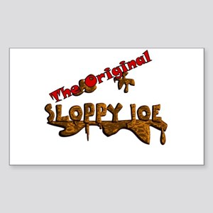 The Original Sloppy Joe V3.0 Sticker (Rectangle)