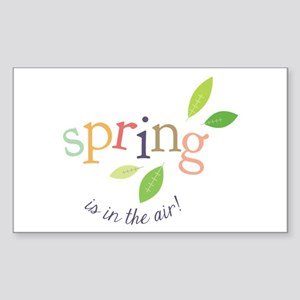 Spring In The Air Sticker