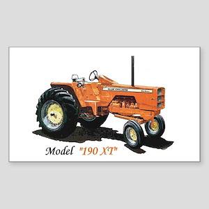 Antique Tractors Rectangle Sticker