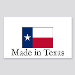 Made in Texas Rectangle Sticker