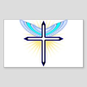 Angel Cross Sticker