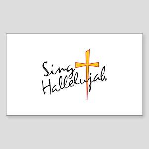 Sing Hallelujah Sticker