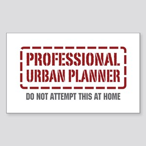 Professional Urban Planner Rectangle Sticker