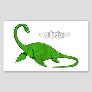 Loch Ness Monster Sticker (Rectangle)