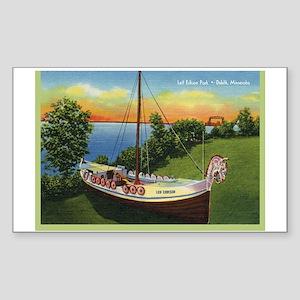 LeifErikson_Gcard Sticker (Rectangle)