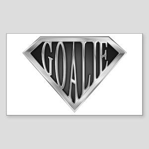 SuperGoalie(metal) Rectangle Sticker