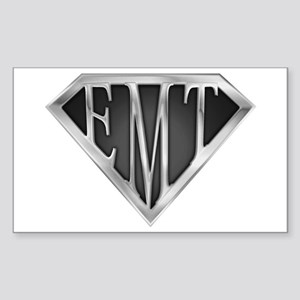 SuperEMT(METAL) Rectangle Sticker