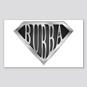 SuperBubba(metal) Rectangle Sticker