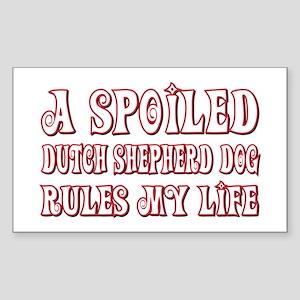 Spoiled Shepherd Rectangle Sticker