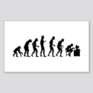Evolution Sticker (Rectangle)
