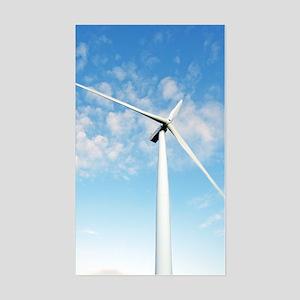 Wind turbine, Denmark Sticker (Rectangle)
