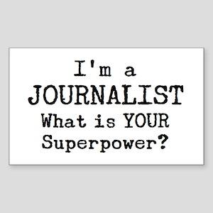 journalist Sticker (Rectangle)