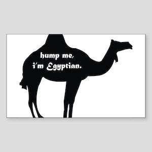 Hump Me, I'm Egyptian Sticker