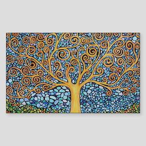 My Tree of Life Sticker (Rectangle)