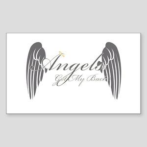 Angels Got My Back Sticker