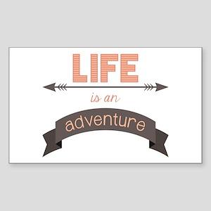 Life Is An Adventure Sticker