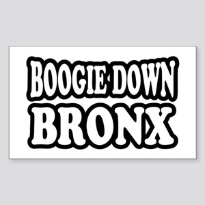 Boogie Down Bronx Sticker (Rectangle)