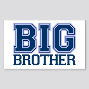 big brother varsity Rectangle Sticker
