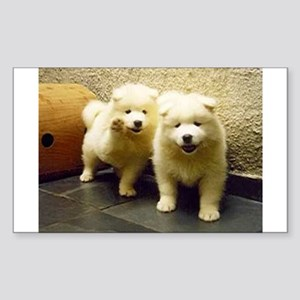 LS samoyed puppy Sticker