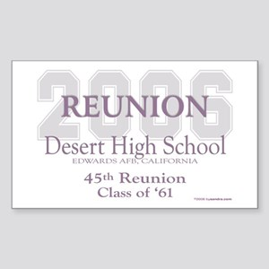 DHS-Class of '61 Rectangle Sticker