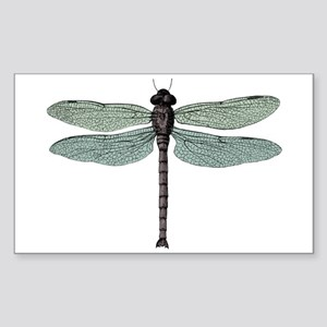 Dragonfly Sticker (Rectangle)