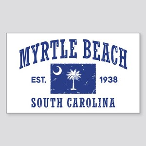 Myrtle Beach Sticker (Rectangle)
