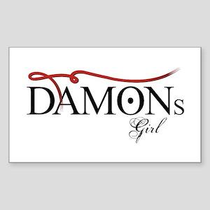 Damons Girl Sticker (Rectangle)