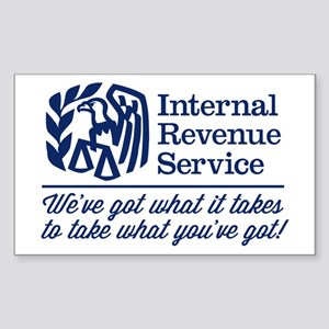 The Irs Sticker (Rectangle)