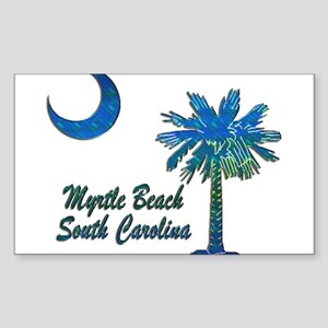 Myrtle Beach 1 Sticker (Rectangle)
